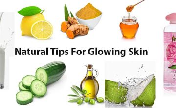 Natural Tips For Glowing Skin