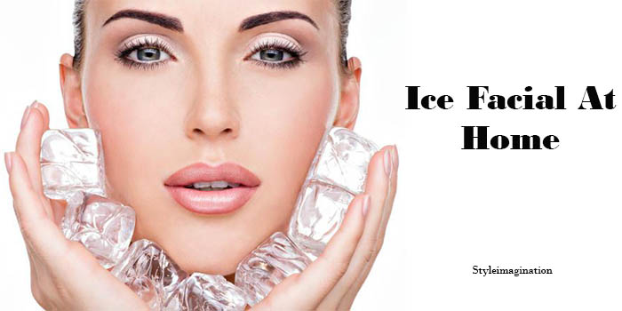 Ice Facial At Home