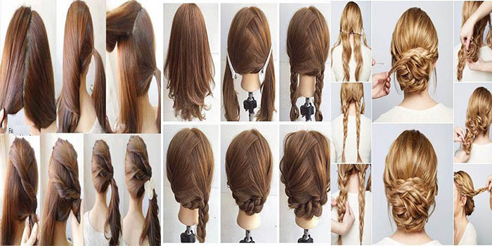 Pakistani Cute Girls Hairstyles Step By Step Simple