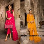 Bareeze New Festive Eid Embroidered Collection With Prices
