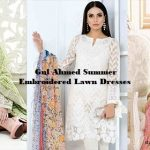 Gul Ahmed Summer Embroidered Lawn Dresses Collection 2019