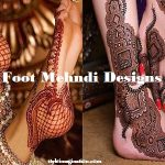 Latest Foot Mehndi Designs For All Seasons and Occasions