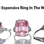 Most Expensive Ring In The World 2020 – Expensive Diamond Rings