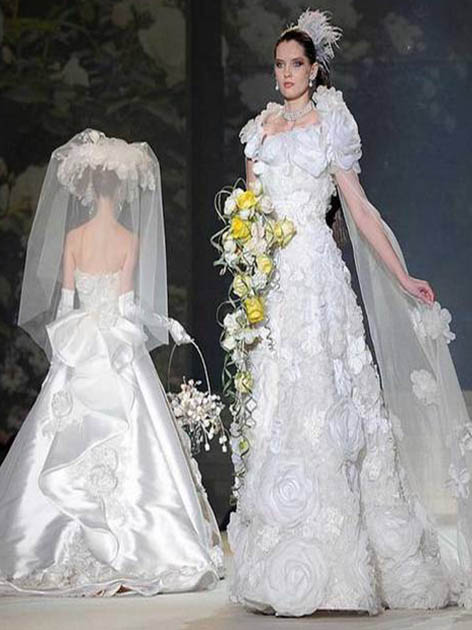 world's most expensive wedding dress worth 19 million