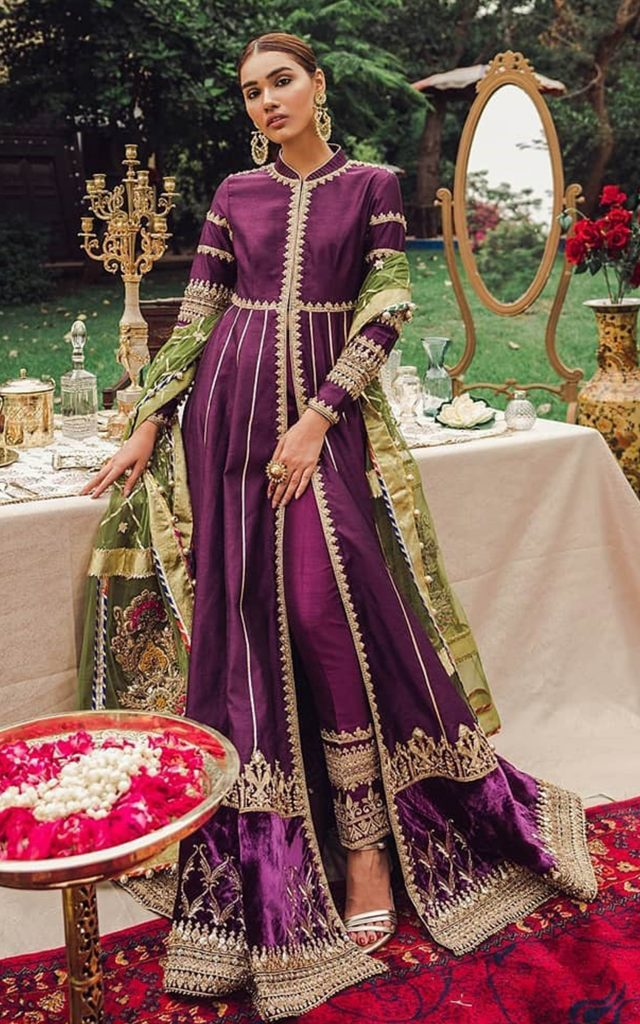 mohsin naveed ranjha bridal collection