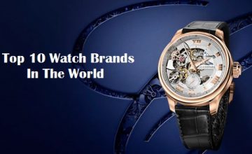 top 10 watch brands in the world