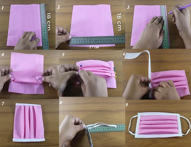 how to make mask with cloth