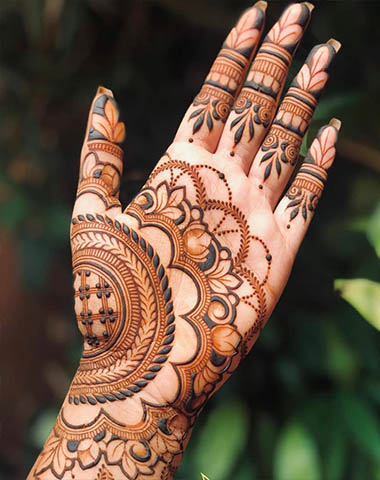 mehndi design easy and beautiful