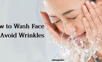 how to wash face to avoid wrinkles