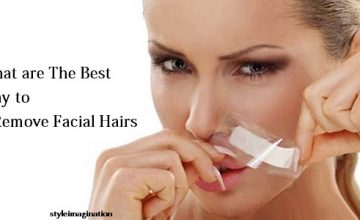 what are the best way to remove facial hairs