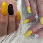 Yellow Nail Design – 40 Yellow Nail Looks to Try on Nails of Any Length or Shape