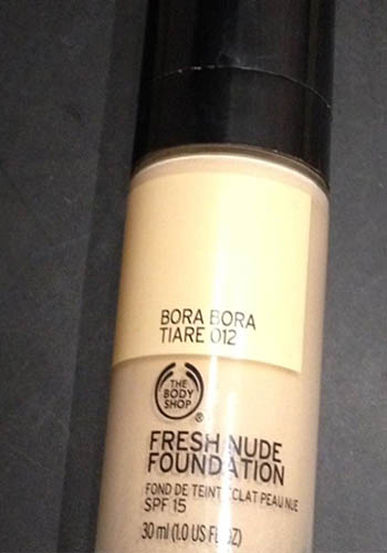 Fresh Nude Foundation review