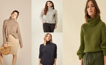 roll neck jumpers