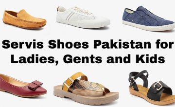 Servis Shoes Pakistan for Ladies, Gents and Kids